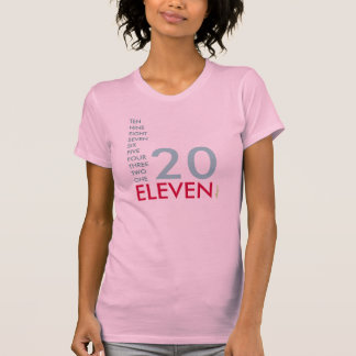 20 ELEVEN (2011) Layered T-Shirt
