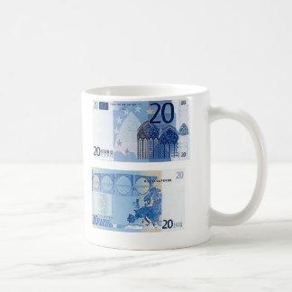 20 Euro Banknote Coffee Mug