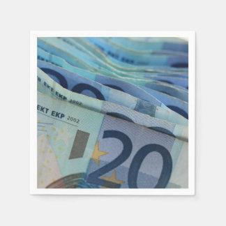 20 euro bills - Money Art Paper Napkins