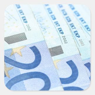 20 euro bills - Money Art Stickers