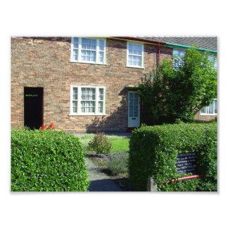 20 Forthlin Road. Childhood home of Paul McCartney Photo Print