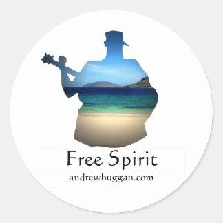20 Free Spirit Stickers