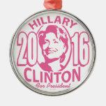 20 Hillary Clinton 16 Christmas Ornaments