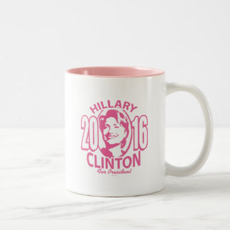 20 Hillary Clinton 16 Two-Tone Coffee Mug