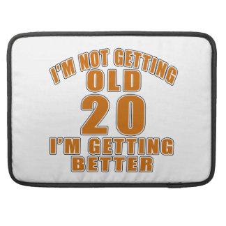20 I Am Getting Better Sleeve For MacBooks