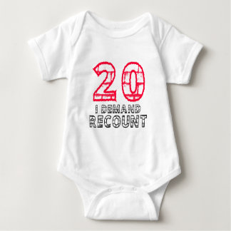 20 I Demand Recount Birthday Designs Infant Creeper