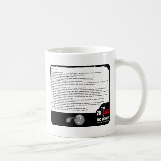 20 Laws of No Hope Coffee Mug