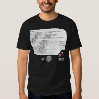 20 Laws of No Hope Tee Shirt