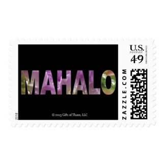 20 Medium Mahalo Postage Stamps, Various Rates