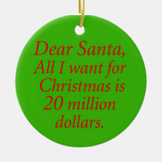 20 million christmas ornament