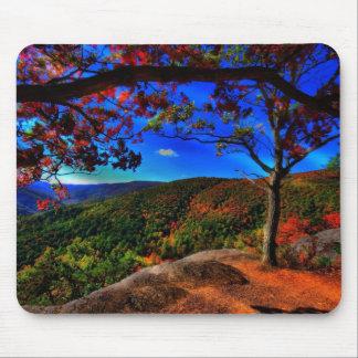 20 minute cliff Blue Ridge Parkway Mouse Pad