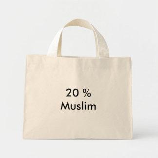20 % Muslim Mini Tote Bag