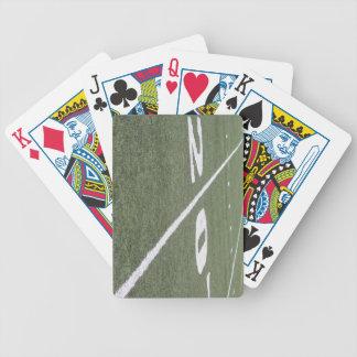 20 naipes de la línea de yardas baraja cartas de poker