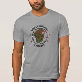 20 Natres battalion D CIE 2nd group Tee Shirts