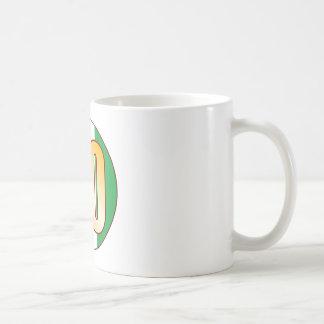 20 NIGERIA Gold Coffee Mug