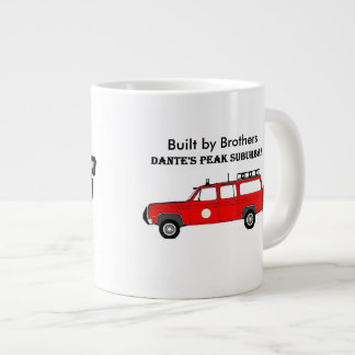 20 oz Built by brothers mug
