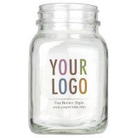 20 oz Promotional Mason Jar Drink Glass No Handle