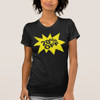 20 Percent Off Fitted Twofer Sheer Tee Shirts