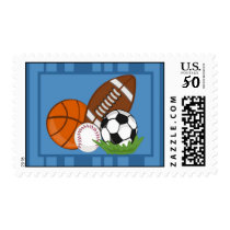20 Postage Stamps All-Star Blue