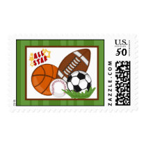 20 Postage Stamps All-Star Green