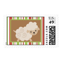 20 Postage Stamps Farm Animals