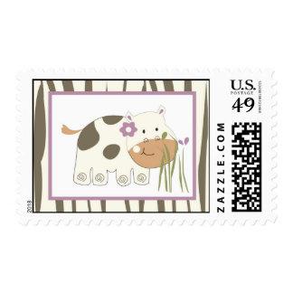 20 Postage Stamps Jacana Girl Jungle Zoo Animal
