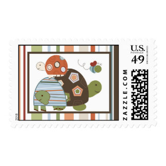 20 Postage Stamps Laguna Beach Turtle Frog Pond