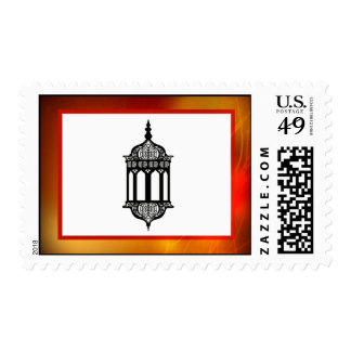 20 Postage Stamps Moroccan Lantern