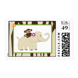 20 Postage Stamps Purple Jacana