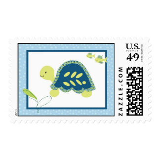 20 Postage Stamps Sea Turtle Reef Ocean