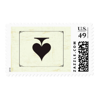 20 Postage Stamps Vintage Casino Love