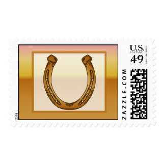 20 Postage Stamps Wagon Wheel/Horse Shoe Sunset De