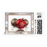 20 Postage Stamps Winter Blur