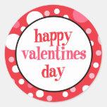 20 primeros felices de la magdalena del día de San Etiquetas Redondas