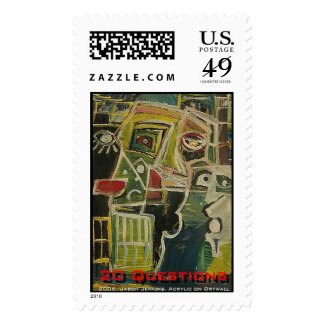 20 Questions Postage Stamps