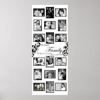 """20"""" ranura de x50"""" 18 personalizó el collage Monta Poster"""