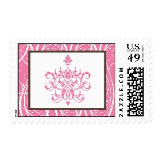 20 sellos Chandlier rosado