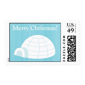 20 sellos helados de los azules cielos del iglú