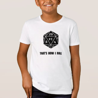 20 Sided Dice Roll T-Shirt