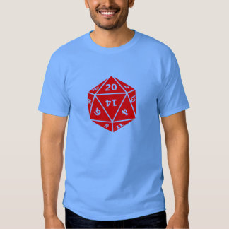 20 Sided Dice T Shirt