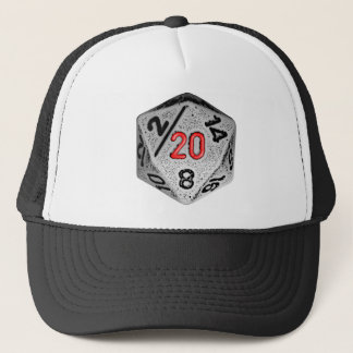 20 Sided Game - Hat- Dice Only Trucker Hat