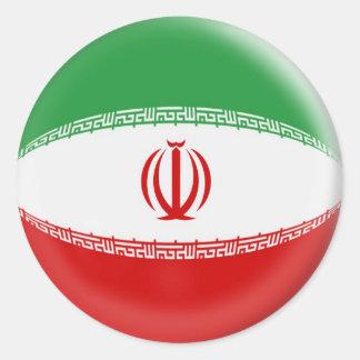 20 small stickers Iran flag