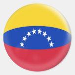 20 small stickers Venezuela Venezuelan flag