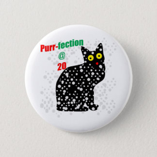 20 Snow Cat Purr-fection Button
