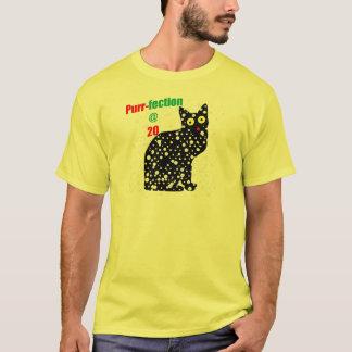 20 Snow Cat Purr-fection T-Shirt