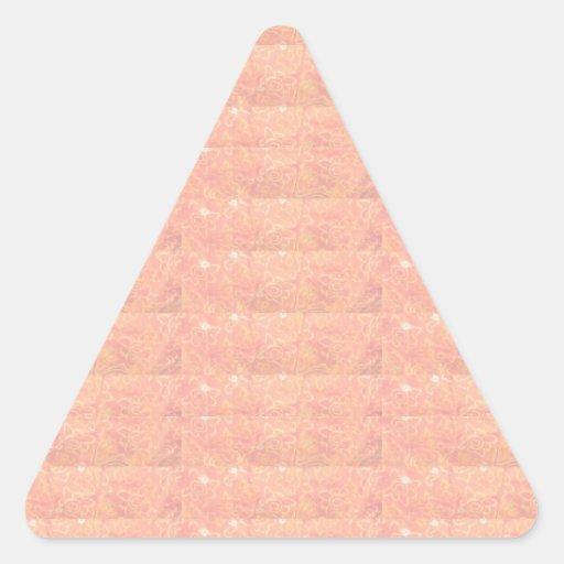 20 sombra suave Embosed - modelos de oro de seda Calcomanía Triangulo Personalizadas