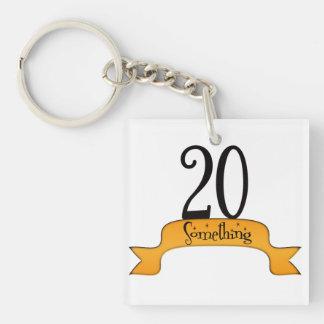 20 Something Keychain