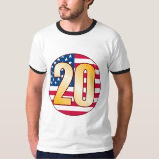 20 USA Gold T-Shirt