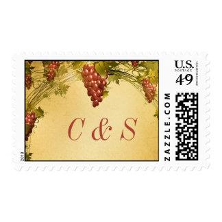 20 Vineyard Wedding Postage Stamps