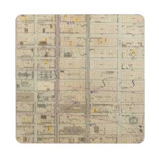 20 Ward 19 Puzzle Coaster